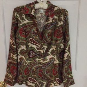 Talbots Silk Blouse